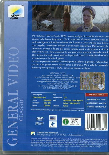 L' albero degli zoccoli di Ermanno Olmi - DVD - 2