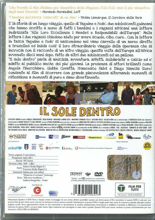 Il sole dentro di Paolo Bianchini - DVD - 2