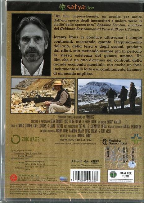 Trashed di Candida Brady - DVD - 2
