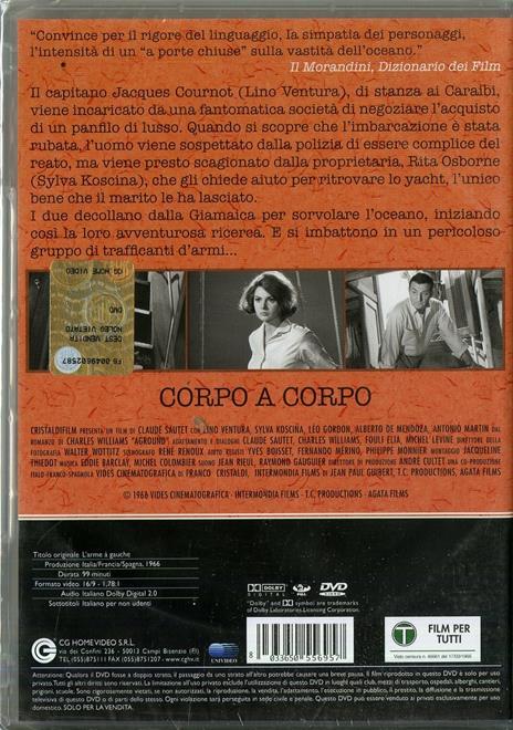 Corpo a corpo di Claude Sautet - DVD - 2