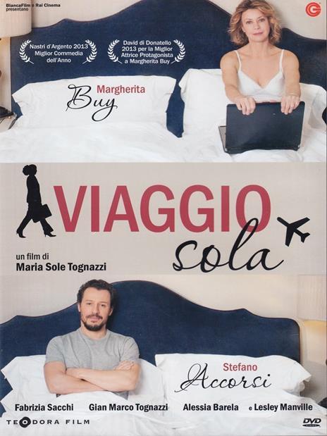 Viaggio sola di Maria Sole Tognazzi - DVD