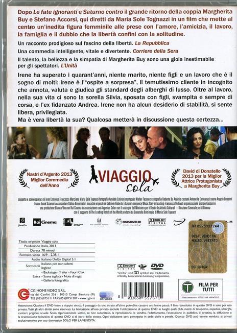 Viaggio sola di Maria Sole Tognazzi - DVD - 2