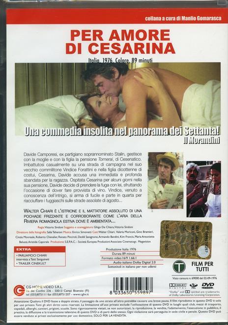 Per amore di Cesarina di Vittorio Sindoni - DVD - 2