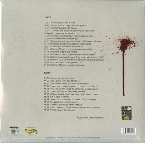 Amore Tossico (Colonna sonora) - Vinile LP + CD Audio di Detto Mariano - 2
