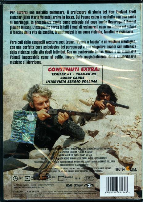 Faccia a faccia di Sergio Sollima - DVD - 2