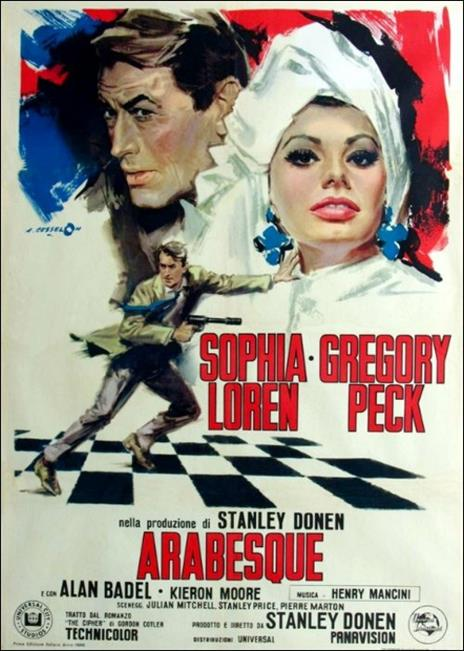 Arabesque di Stanley Donen - DVD