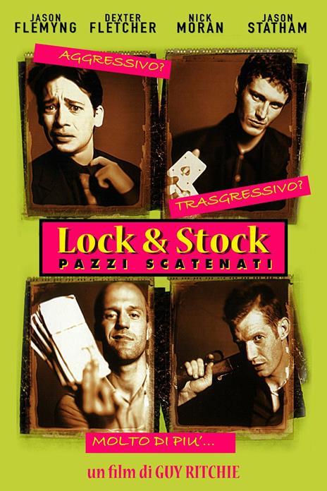 Lock & Stock. Pazzi scatenati (DVD) di Guy Ritchie - DVD