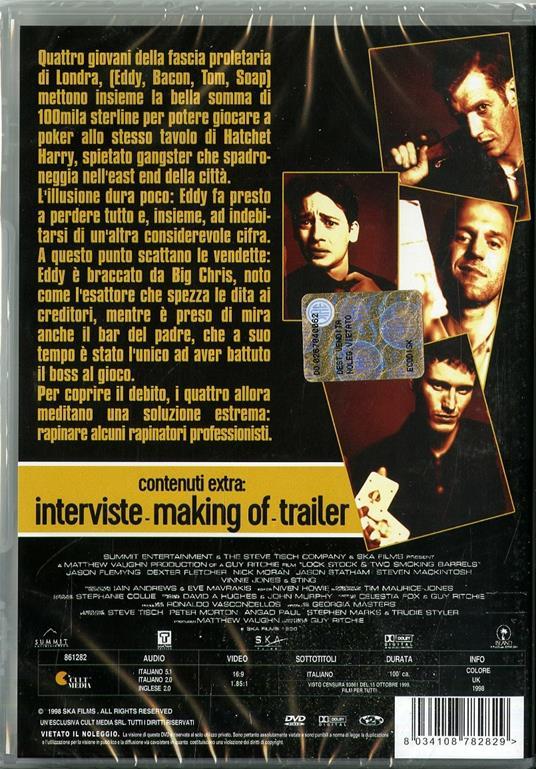 Lock & Stock. Pazzi scatenati (DVD) di Guy Ritchie - DVD - 2