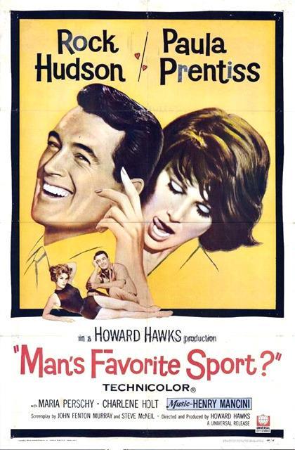 Lo sport preferito dall'uomo (DVD) di Howard Hawks - DVD