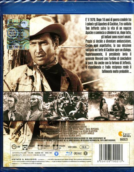 L' amante indiana di Delmer Daves - Blu-ray - 2