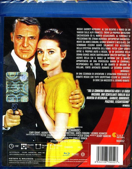 Sciarada di Stanley Donen - Blu-ray - 2