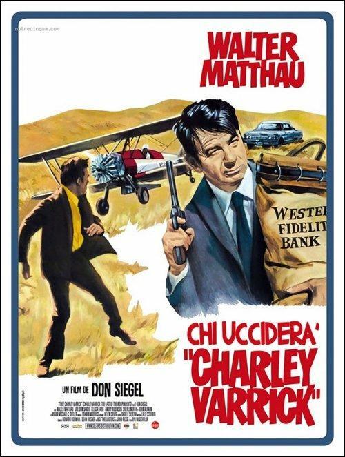 Chi ucciderà Charley Warrick? di Don Siegel - Blu-ray