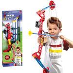 Arco Composito Per Bambini Set Arciere Con 3 Frecce Punta Ventosa Tiro Con Arco