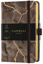 Taccuino Notebook Castelli Wabi Sabi, Lightning Pocket A Pagine bianche - 9x14 cm