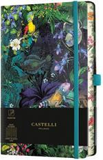 Taccuino Notebook Castelli Eden, Lily Pocket A Righe - 9x14 cm