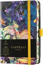 Taccuino Castelli, a righe, rigido, Eden Cocktiel - 9 x 14 cm