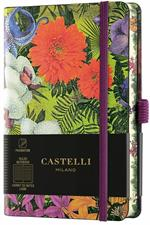 Taccuino Notebook Castelli Eden, Orchid Pocket A Righe - 9x14 cm
