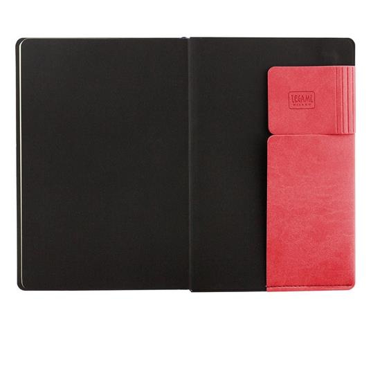 Taccuino Legami My Notebook large a pagine bianche Rosso. Neon Coral - 2