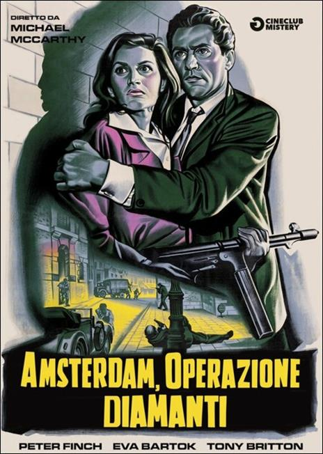Amsterdam, operazione diamanti di Michael McCarthy - DVD