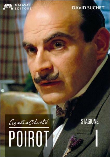 Poirot. Agatha Christie. Stagione 1 (3 DVD) di Edward Bennett,Renny Rye,Andrew Grieve - DVD