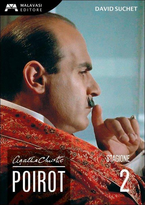 Poirot. Agatha Christie. Stagione 2 (3 DVD) di Edward Bennett,Renny Rye,Andrew Grieve - DVD