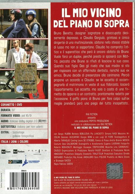 Il mio vicino del piano di sopra (DVD) di Fabrizio Costa - DVD - 2