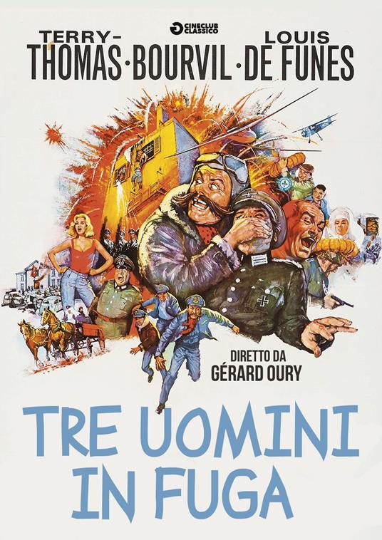 Tre uomini in fuga (DVD) di Gérard Oury - DVD