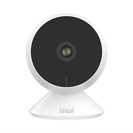 Ring Telecamera IP WiFi interno Isiwi per sorveglianza domestica avanzata, Risoluzione HD 1080P, Rilevazione di movimenti e suoni anomali, Audio bidirezionale, Baby Monitor con Visione Notturna