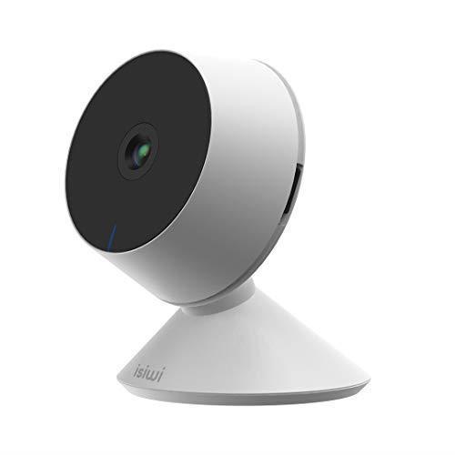 Ring Telecamera IP WiFi interno Isiwi per sorveglianza domestica avanzata, Risoluzione HD 1080P, Rilevazione di movimenti e suoni anomali, Audio bidirezionale, Baby Monitor con Visione Notturna - 3