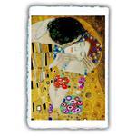 MiniArtPrint. Stampe fine art. Gustav Klimt. Il bacio. Particolare. 1907-1908