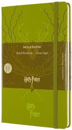 Taccuino Moleskine Harry Potter Limited Edition large a righe Expecto Patronum. Verde
