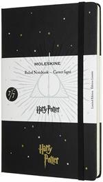 Taccuino Moleskine a righe Harry Potter Book 7. Nero