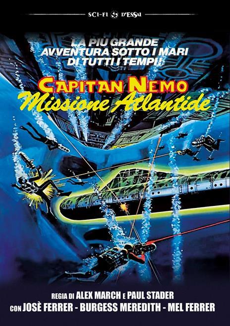 Capitan Nemo. Missione Atlantide (DVD) di Alex March - DVD