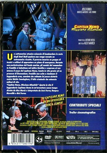 Capitan Nemo. Missione Atlantide (DVD) di Alex March - DVD - 2