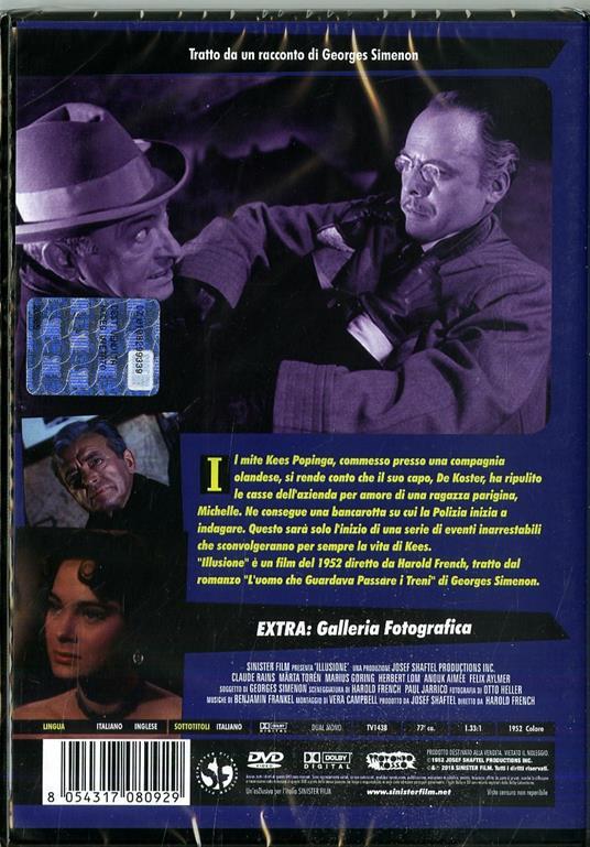 Illusione (DVD) di Harold French - DVD - 2