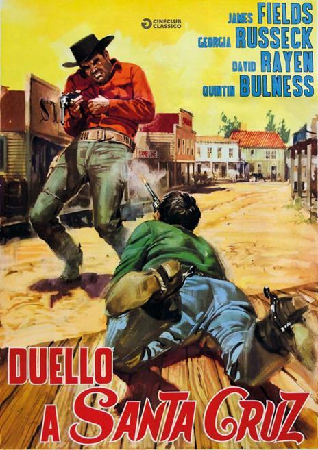 Duello a Santa Cruz di Miguel M. Delgado - DVD