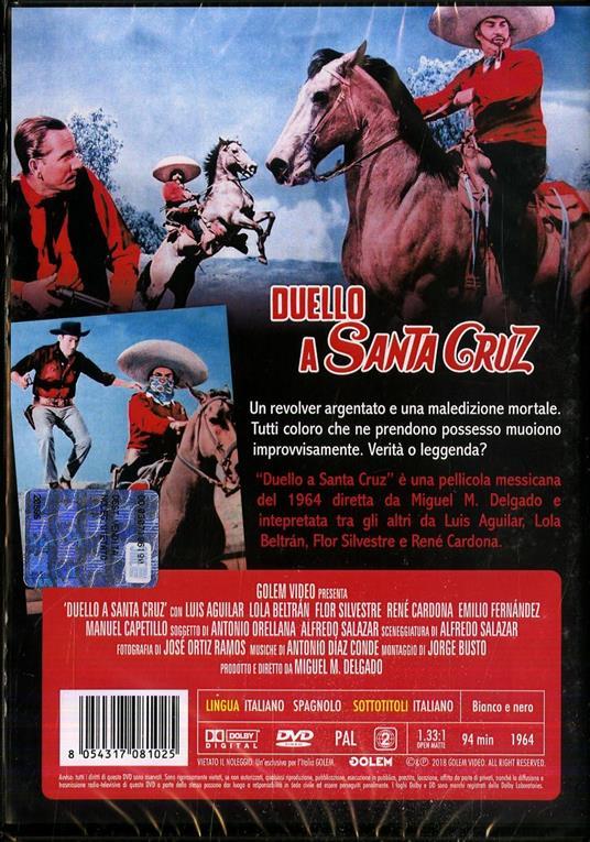 Duello a Santa Cruz di Miguel M. Delgado - DVD - 2
