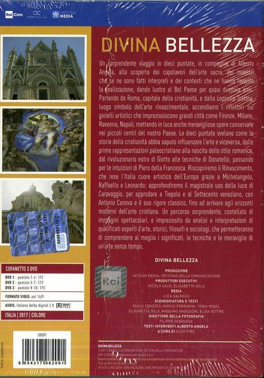 Divina Bellezza (3 DVD) di Luca Salmaso - DVD - 2