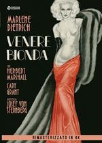 Venere bionda. Rimasterizzato in 4K (DVD)