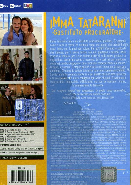 Imma Tataranni. Sostituto procuratore (6 DVD) di Francesco Amato - DVD - 2