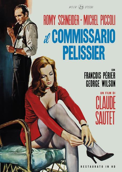 Il commissario Pelissier. Restaurato in HD (DVD) di Claude Sautet - DVD