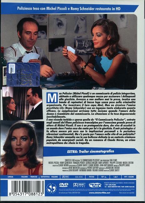 Il commissario Pelissier. Restaurato in HD (DVD) di Claude Sautet - DVD - 2