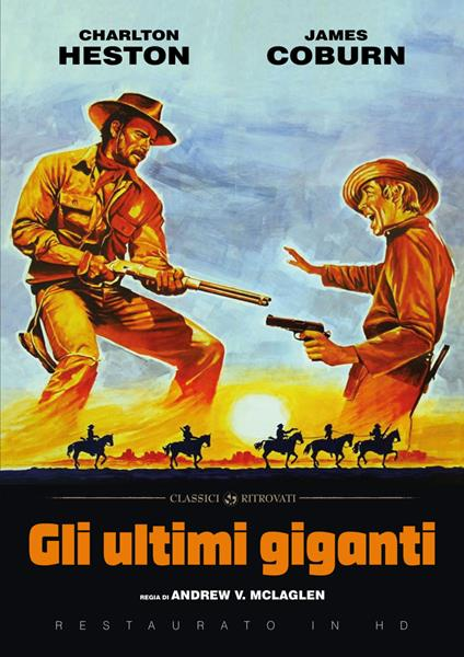 Gli ultimi giganti (Restaurato in HD) (DVD) di Andrew V. McLaglen - DVD