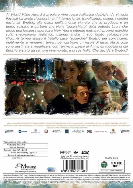 Wine to Love (DVD) di Domenico Fortunato - DVD - 2