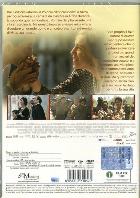 La promessa dell'alba (DVD) di Eric Barbier - DVD - 2