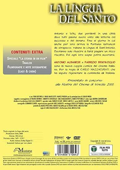 La lingua del santo (DVD) di Carlo Mazzacurati - DVD - 2