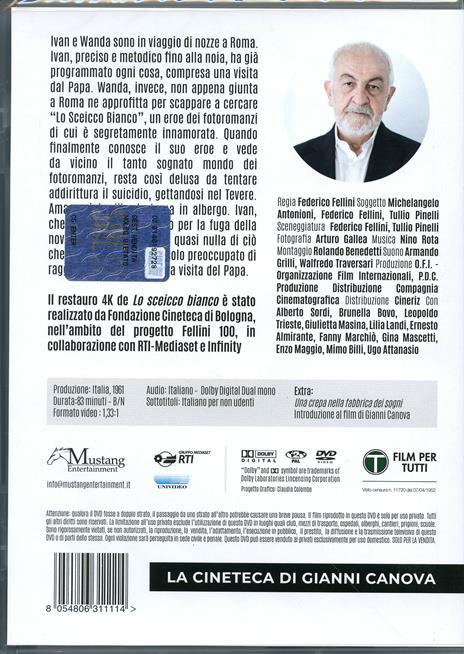 Lo sceicco bianco (DVD) di Federico Fellini - DVD - 2