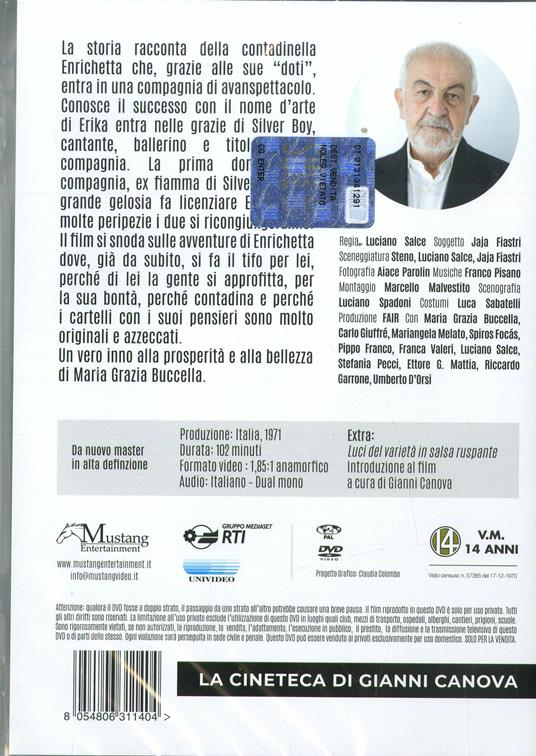 Basta guardarla (DVD) di Luciano Salce - DVD - 2