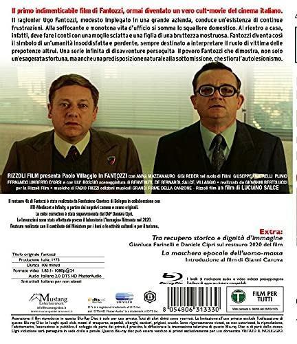 Fantozzi. Ed. 2021 (Blu-ray) di Luciano Salce - Blu-ray - 2
