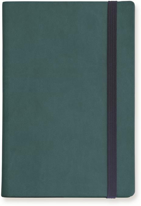 Taccuino Legami My Notebook large a pagine bianche. Blu petrolio